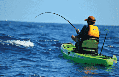 Rods and Reels for Saltwater Kayak Fishing