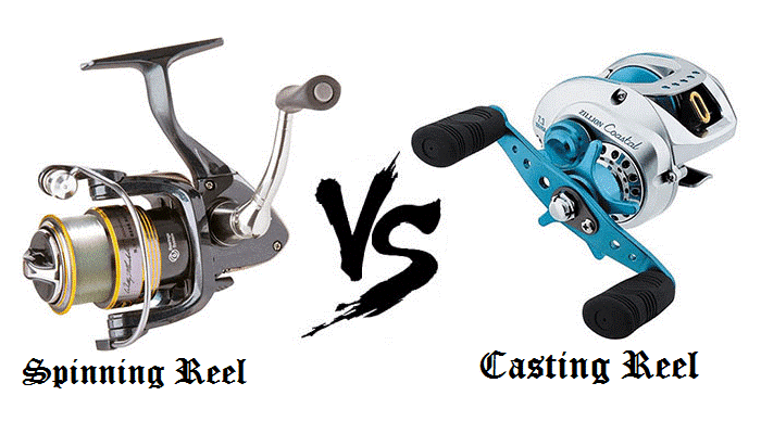 spinning vs casting reel for surf fishing fisher and hunter