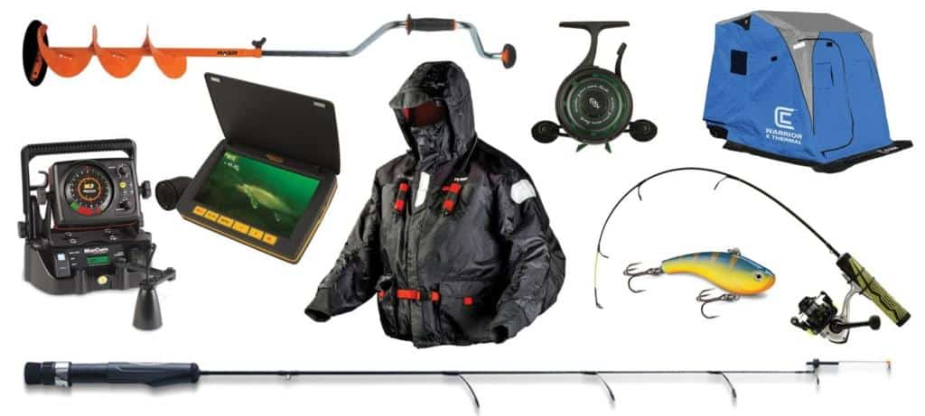 Ice Fishing Equipment for Winter