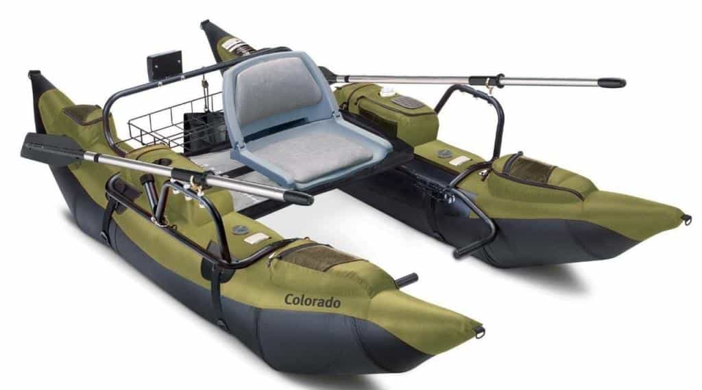 Inflatable Pontoon Boat with Motor Mount Review