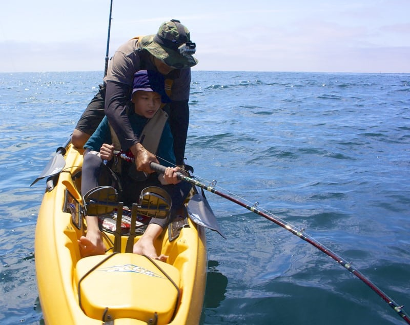 How to Setup Musky Trolling rod and Reel    For Saltwater Kayak Fishing