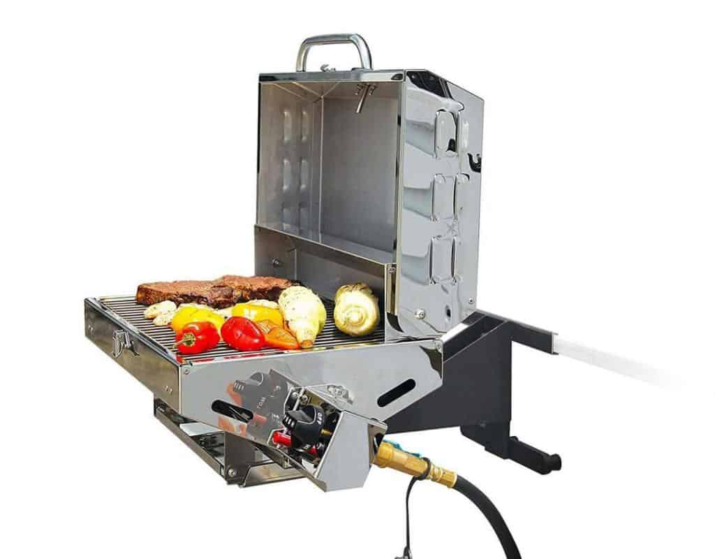 Best Pontoon Boat Grill Fisher And Hunter