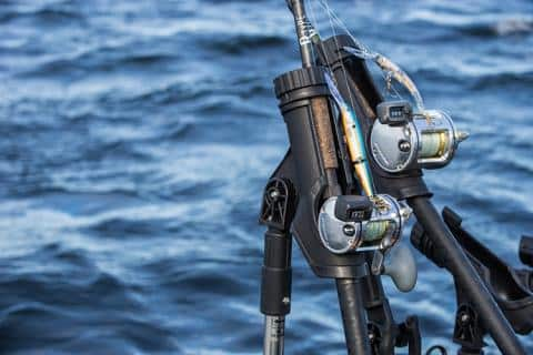 Saltwater kayak fishing gear