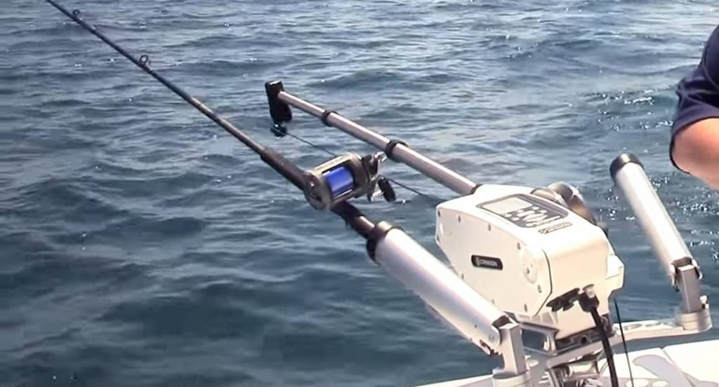 pontoon boat fishing