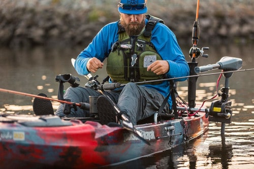 What Trolling Motor To Choose For Saltwater Kayak Fishing